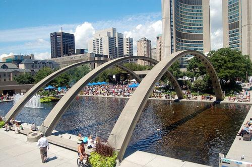 """Picture """"Nathan Phillips Square"""" for Nathan Phillips Square Attraction ..."""
